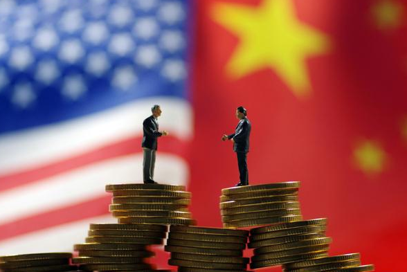 In the first three quarters of this year, the total cost of the sino-us trade than the same period last year dropped by 10.3%