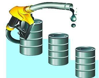 Worry about plunging demand of crude oil futures fell sharply again