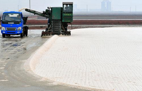 The supply and demand of well and mineral salt market in Chongqing are equal